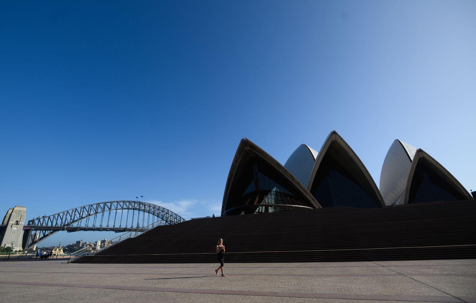 Coronavirus in Sydney, Australia - 21 Mar 2020