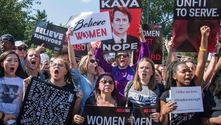 Nominierung von Brett Kavanaugh: Showdown in Washington