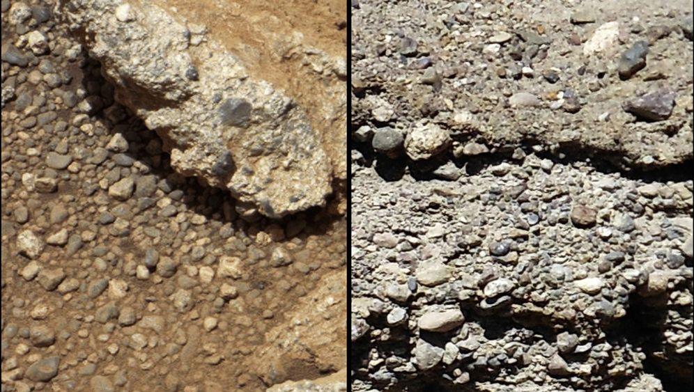 Curiosity-Mission: Das Geheimnis der Flusskiesel