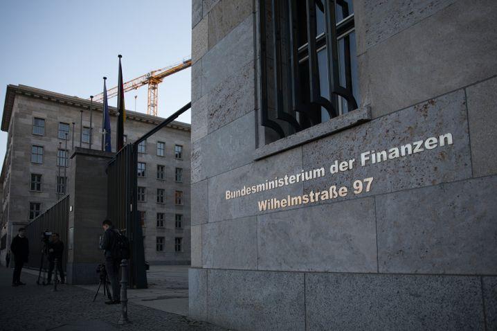 Bundesministerium für Finanzen in Berlin