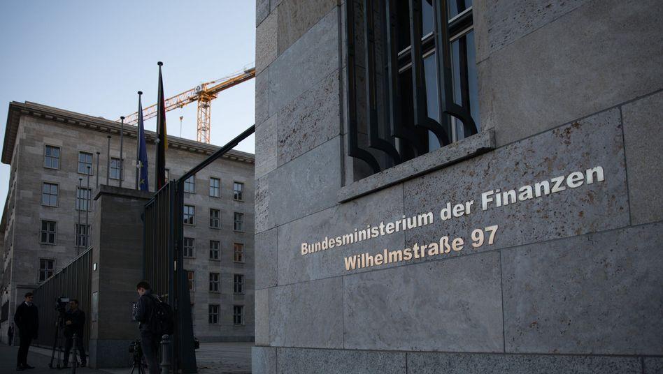 Bundesfinanzministerium in Berlin