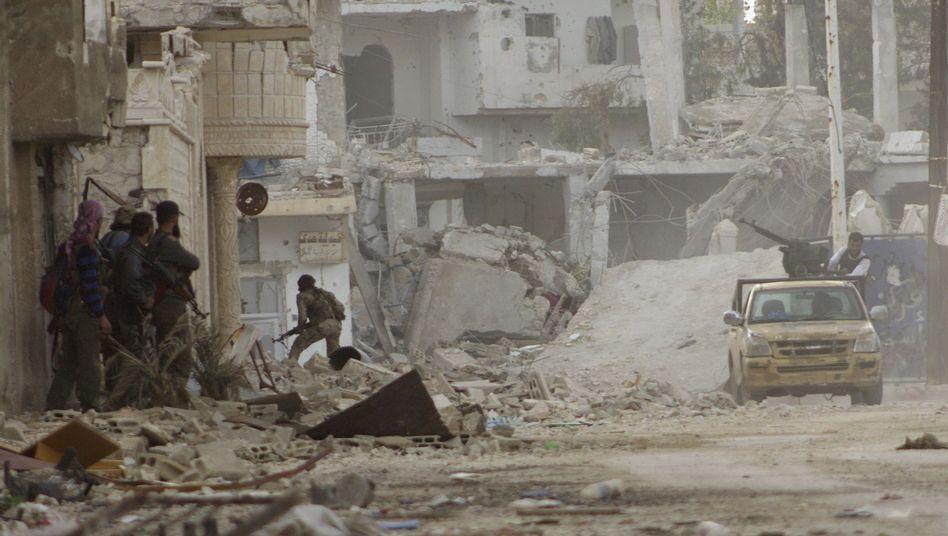 Chaos in Syrien: Rebellen in der Provinz Hama
