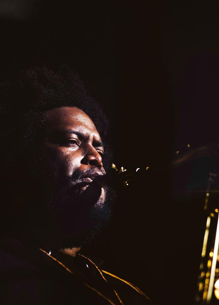 Saxofonist Washington: früher Gast, jetzt im Rampenlicht