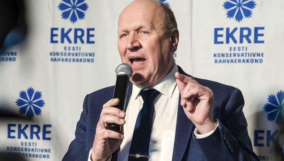 Estlands Innenminister Mart Helme: Schimpftiraden von Rechtsaußen