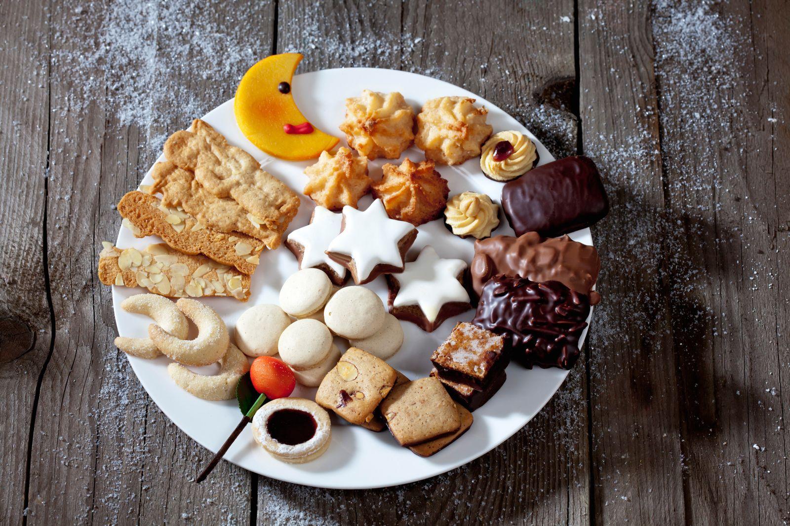 EINMALIGE VERWENDUNG Weihnachtsteller