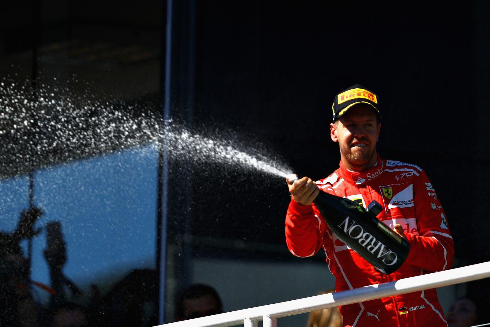Sebastian Vettel Ferrari Brasilien