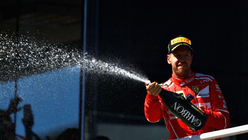 Brasilien-Gewinner Sebastian Vettel