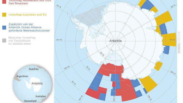 Eisiger Südkontinent: Naturschätze der Antarktis