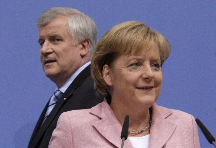 """Seehofer und Merkel: """"Entspannter Nachmittag"""""""