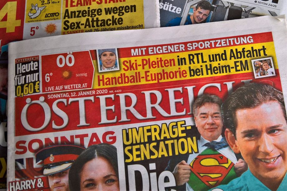 The Fellner-owned newspaper Österreich: Expensive advertising in return for flattering coverage