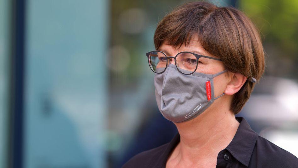 SPD-Vorsitzende Saskia Esken