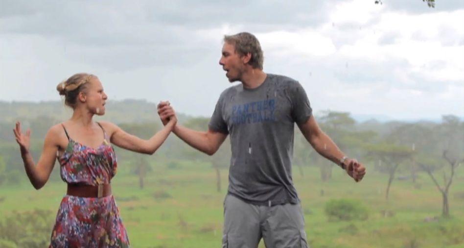 Regen, Afrika, und Kristen Bell mit Dax Shepard: Letzter Urlaub ohne Kids