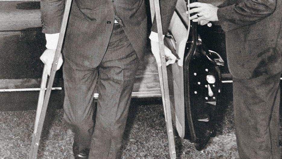 Rückenpatient Kennedy 1961