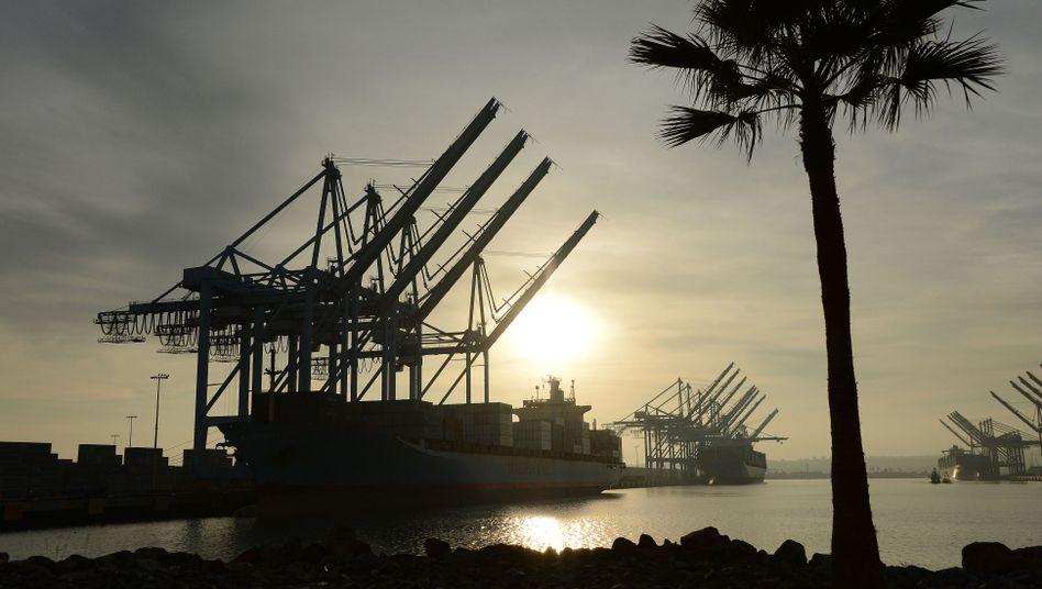 Containerhafen von Los Angeles