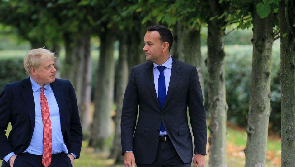 """Johnson und Varadkar: Ein """"sehr gutes, sehr positives und sehr vielversprechendes Treffen"""""""