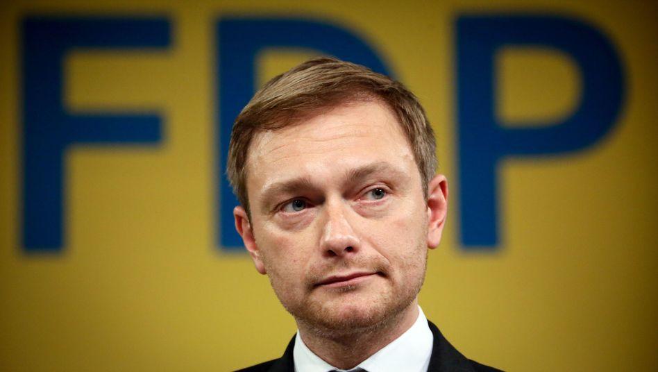 FDP-Chef Lindner: Der Wiederaufstieg hat noch nicht einmal begonnen
