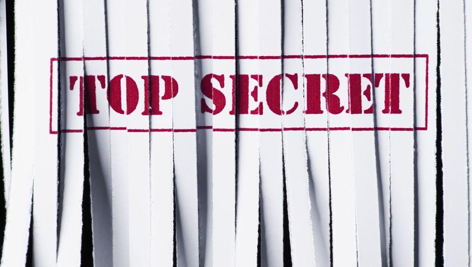 Streng geheim: Die Frage ist nur, wie lange
