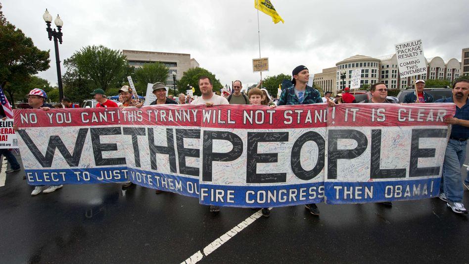 "Tea-Pary-Anhänger in Washington: ""Impeach Obama"""
