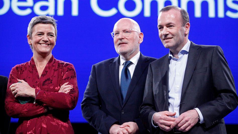 Vestager, Timmermans, Weber - oder nix?