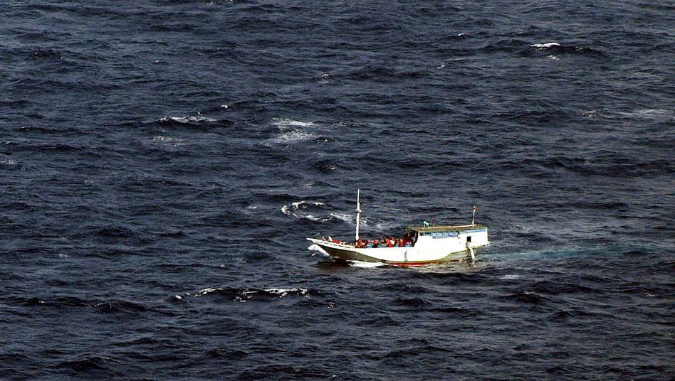 Flüchtlinge vor der australischen Küste (Archiv): Seit 2013 sollen sämtliche Boote zurückgeschickt werden