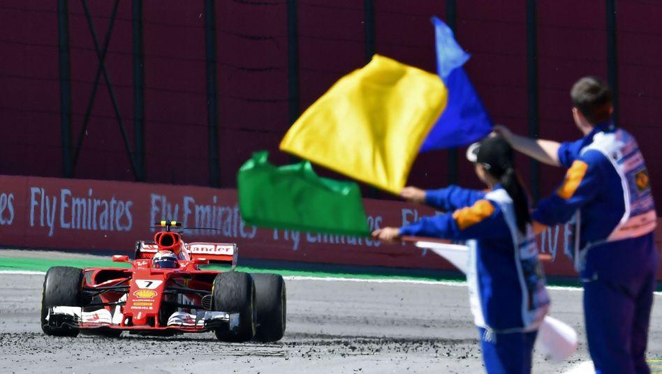 Ferrari-Fahrer Kimi Räikkonen