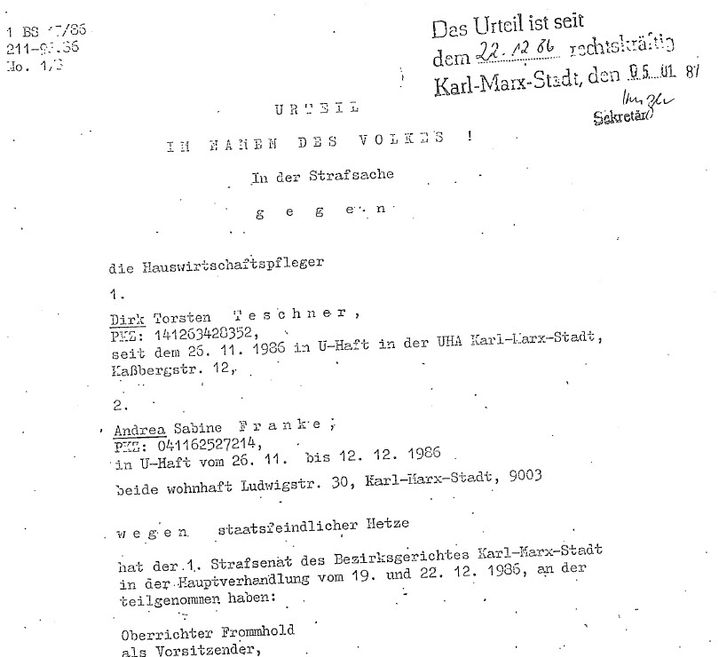 Schuldspruch wegen der Verbreitung eines Mitschnittes einer illegalen Radiosendung - Gerichtsurteil als PDF