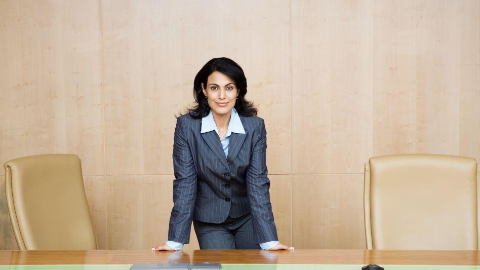 Frau in Führungsposition: In Deutschland immer noch nicht die Regel