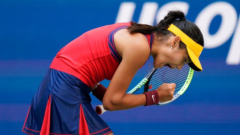 Emma Raducanu steht erstmals in ihrer jungen Karriere in einem Grand-Slam-Halbfinale