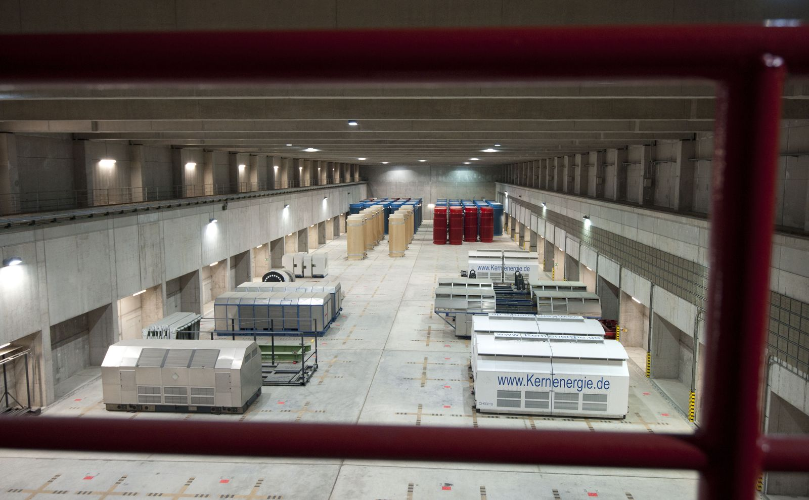 NICHT VERWENDEN Gorleben / Transportbehälterlager / Zwischenlager