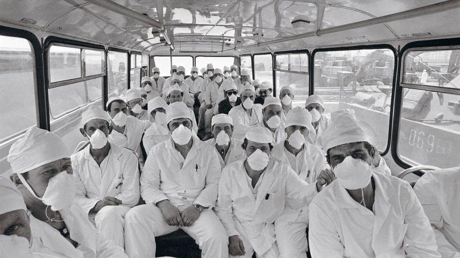»Liquidatoren« in Tschernobyl 1986: Atomkraft war immer Krieg