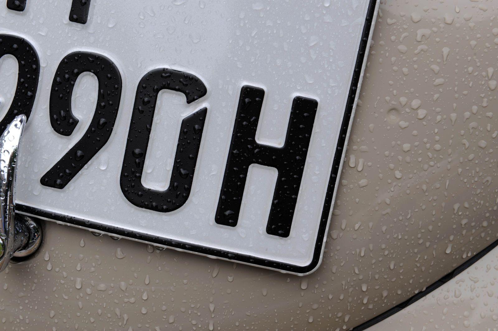 H-Kennzeichen / Oldtimer