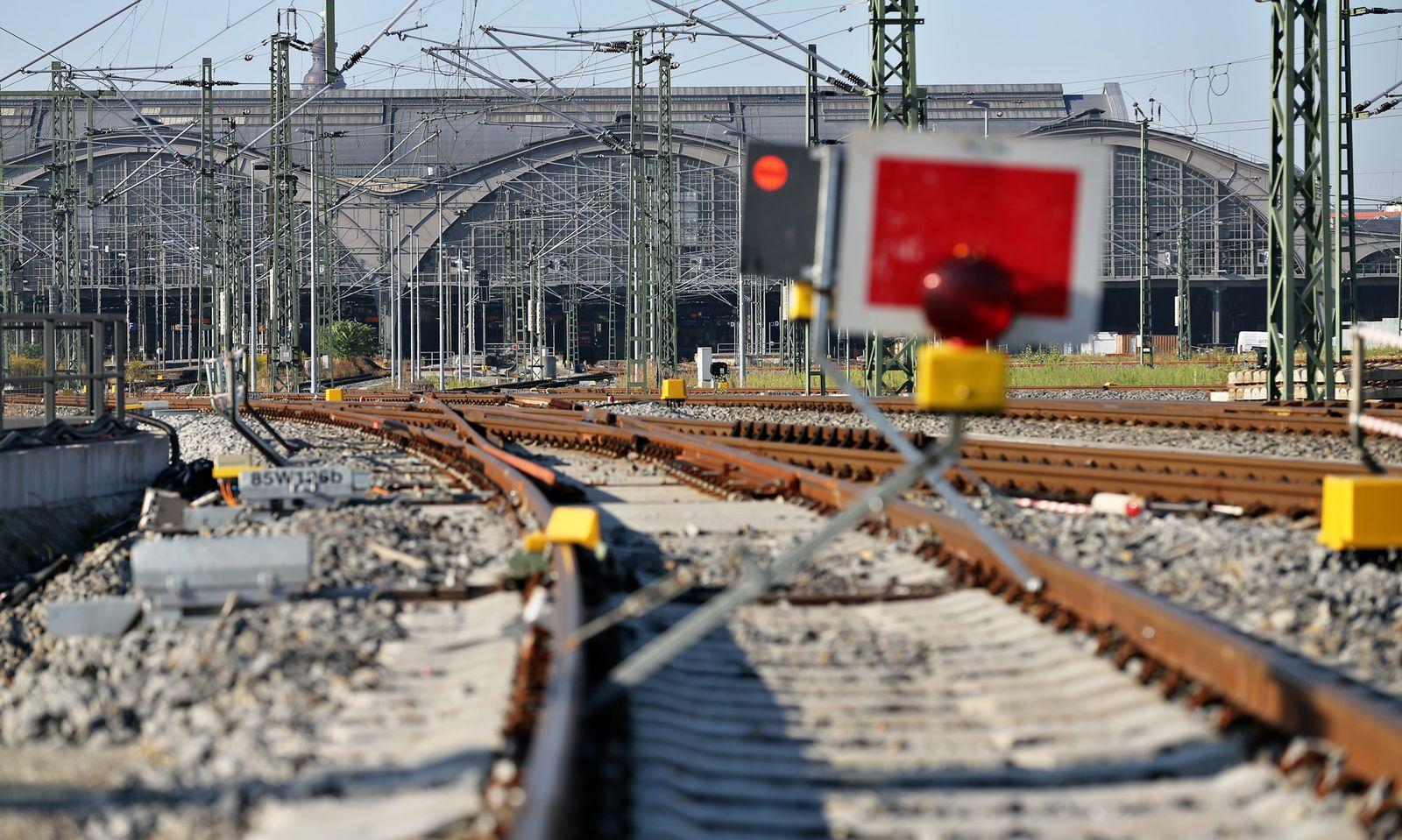 Leipzig / Bahnhof