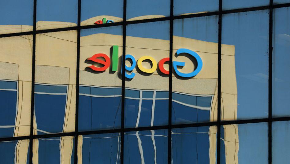 Google-Logo in Irvine (Kalifornien)