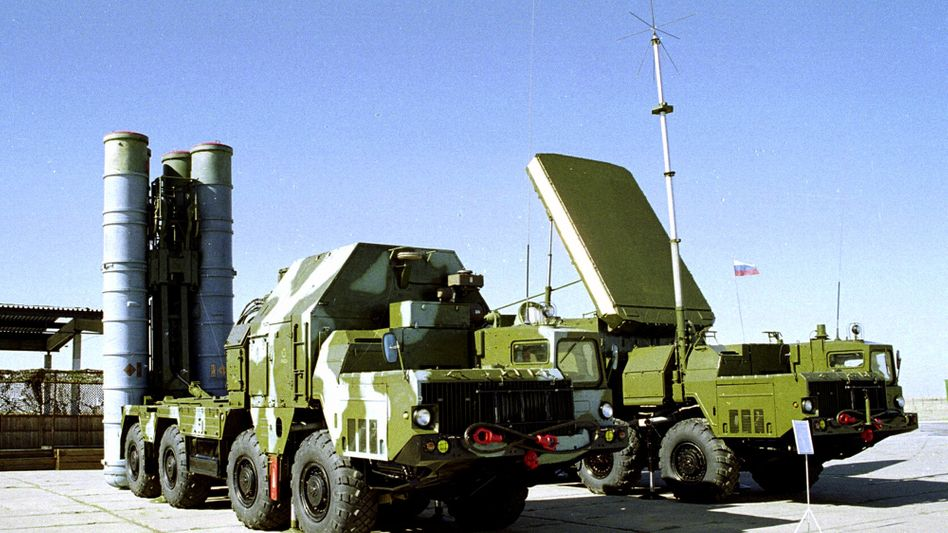 Russisches S-300-Flugabwehrsystem