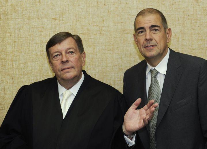 Rechtsanwalt Feigen (Archiv): Schwere Aufgabe im Hoeneß-Prozess