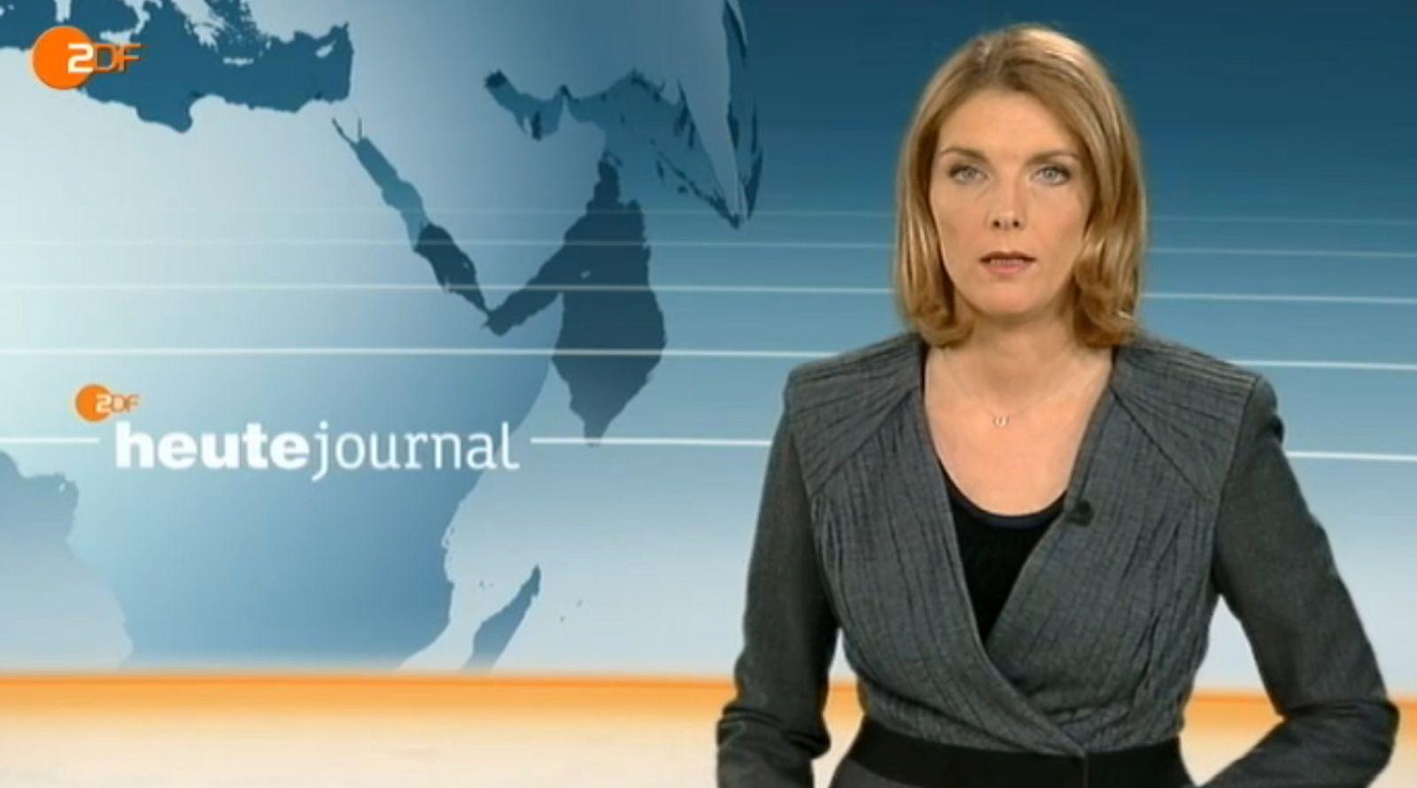 NUR ALS ZITAT!!! Screen/ Heute Journal/ Erdbeben Japan/ Slomka