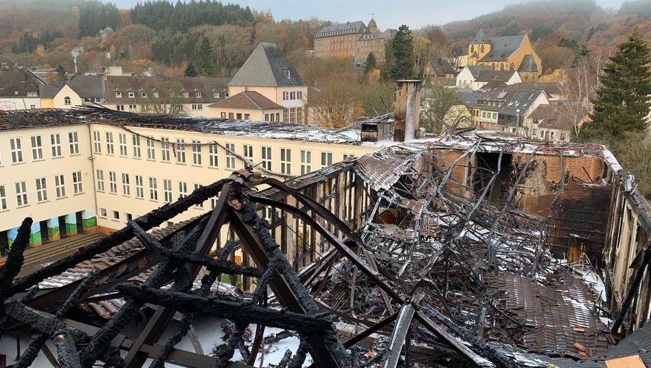 Johannes-Sturmius-Gymnasium in Schleiden (November 2018): Millionenschaden