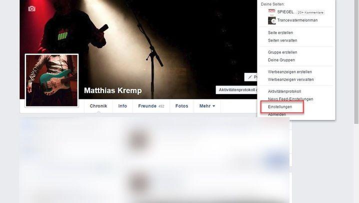Zwei-Faktor-Authentifizierung: So geht es bei Facebook