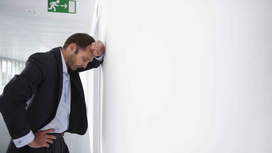 Depressionen: Viele Arbeitnehmer verheimlichen psychische Probleme