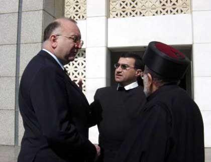 Wimmer in Bagdad, Frühjahr 2003: Besuch bei der christlichen Minderheit