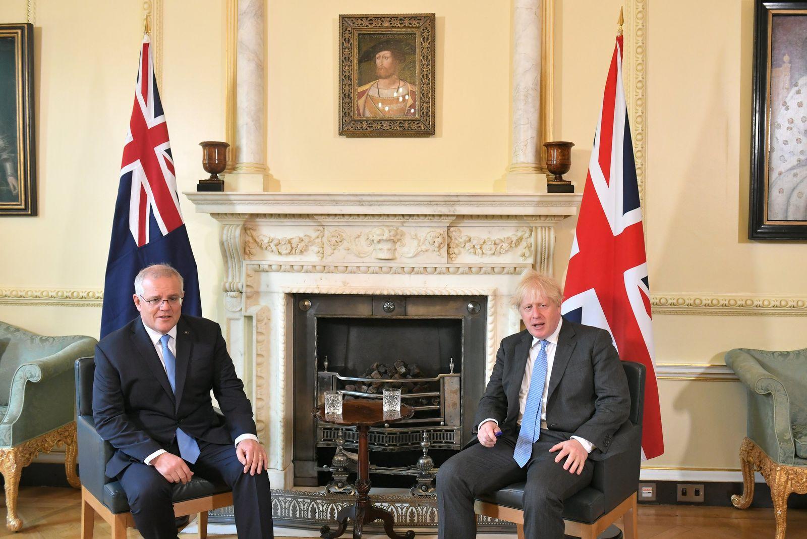 Australiens Premierminister Morrison in London