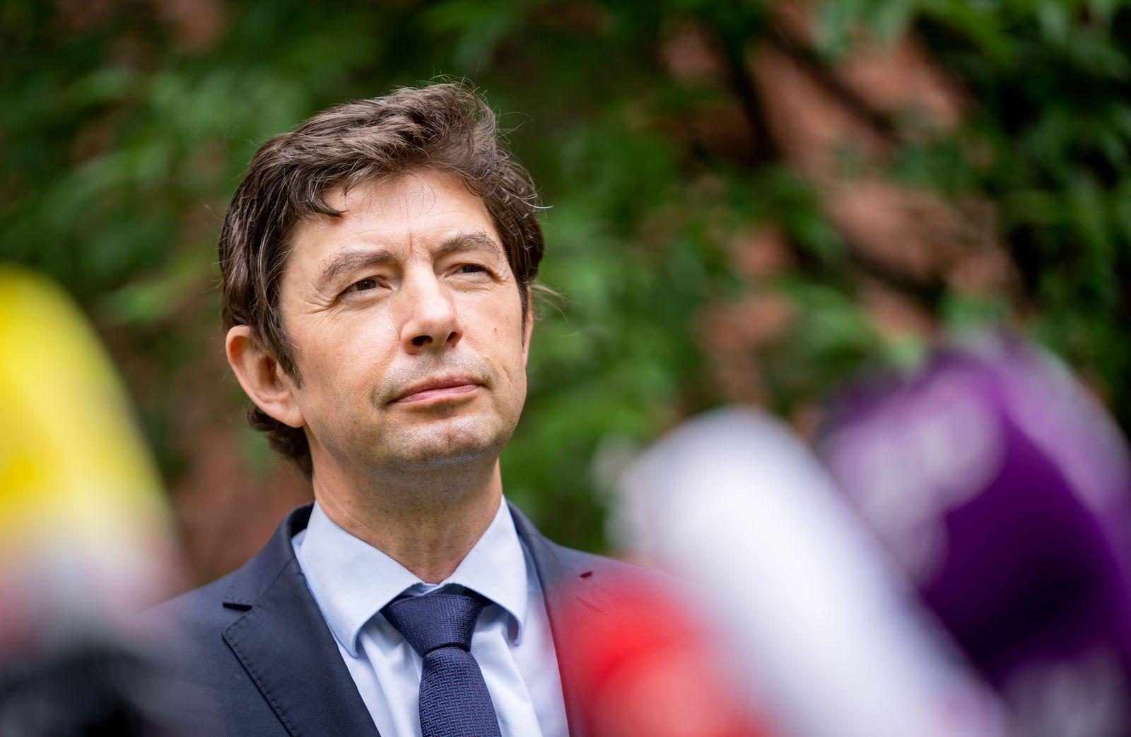 Österreichs Bundeskanzler Kurz trifft Virologen Drosten