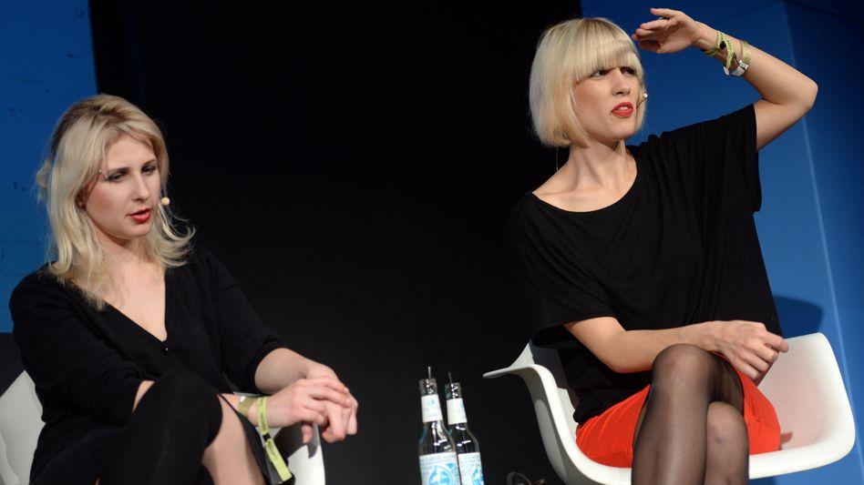 Marija Aljochina (links) und Nadeschda Tolokonnikowa: 2012 wurden sie zu Haftstrafen verurteilt