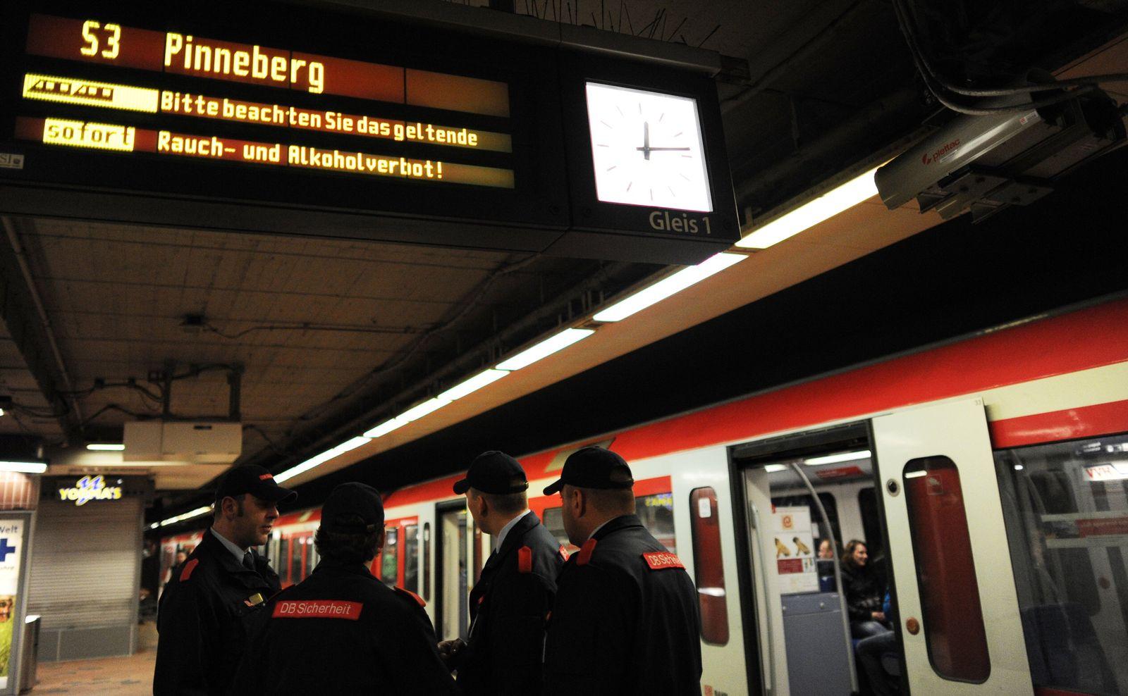 Alkoholverbot in der Hamburger U- und S-Bahn