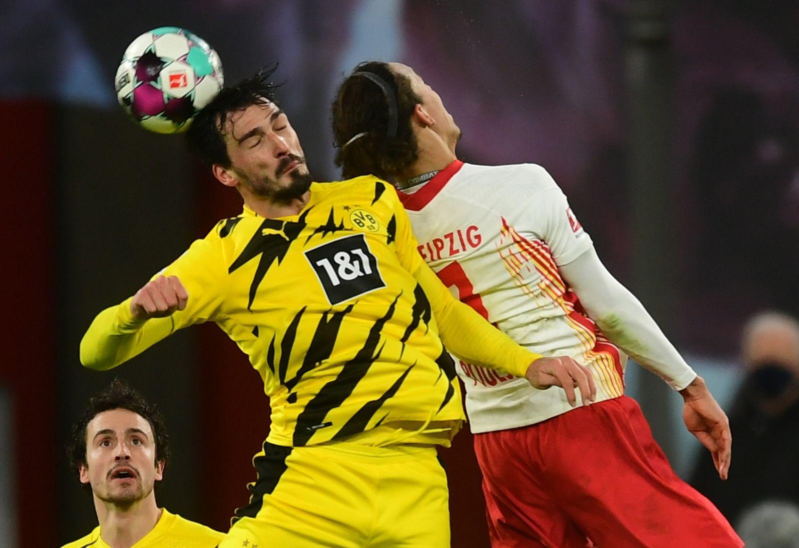RB Leipzig vs Borussia Dortmund, Germany - 09 Jan 2021