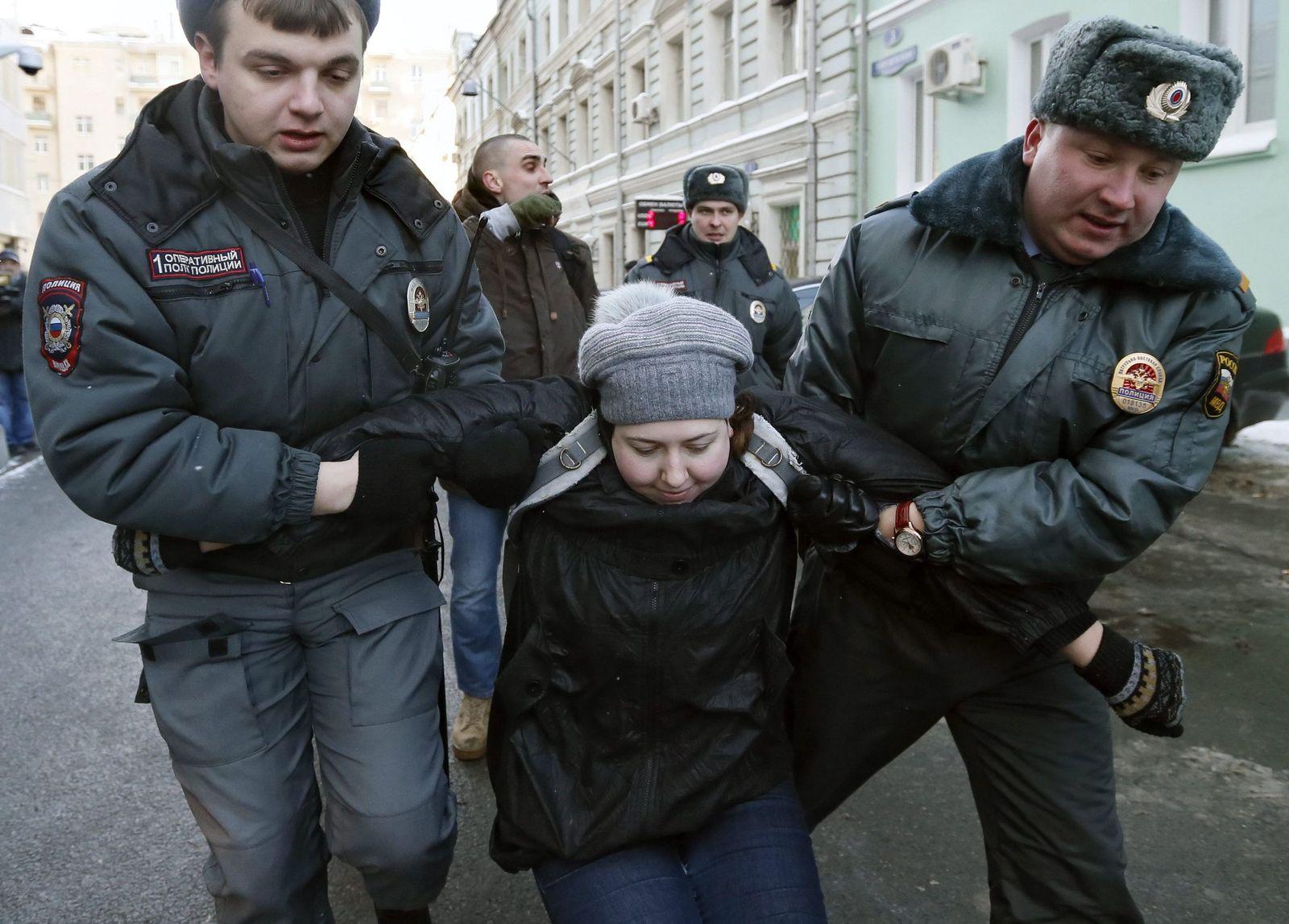 russland verhaftung