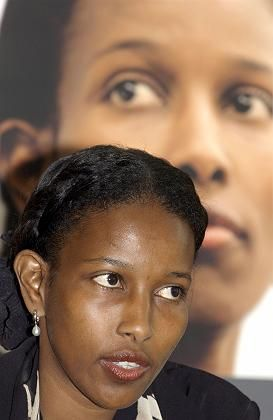 "Hirsi Ali: ""The cartoons should be displayed everywhere."""