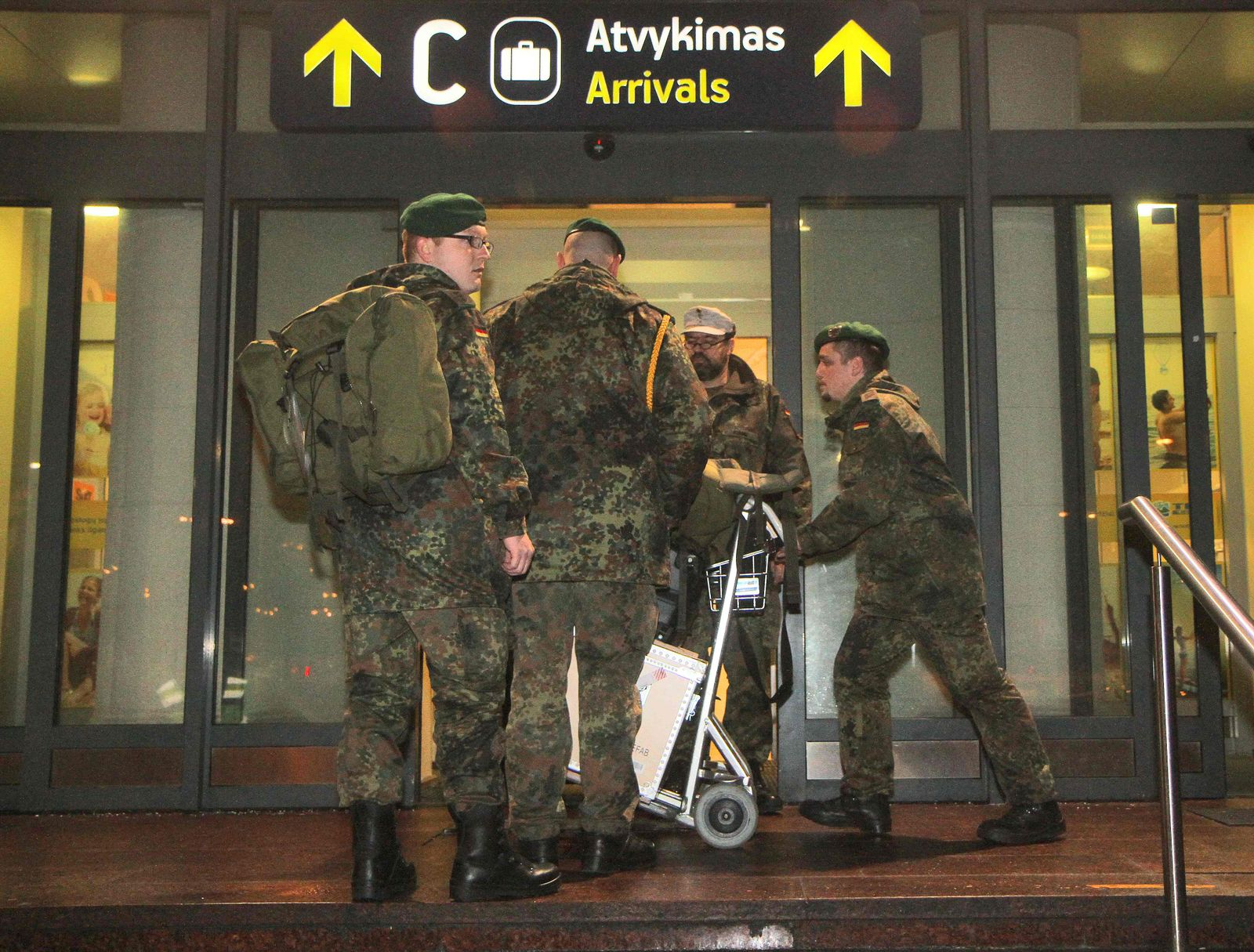 Bundeswehr-Soldaten Litauen