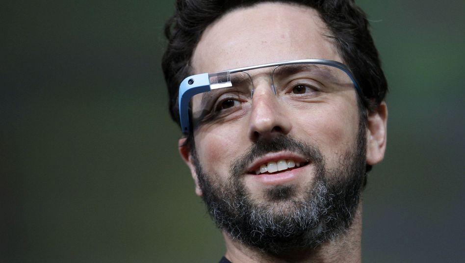 Google-Gründer Brin mit Datenbrille: Es ist niemandem vorzuwerfen, sich zu fürchten