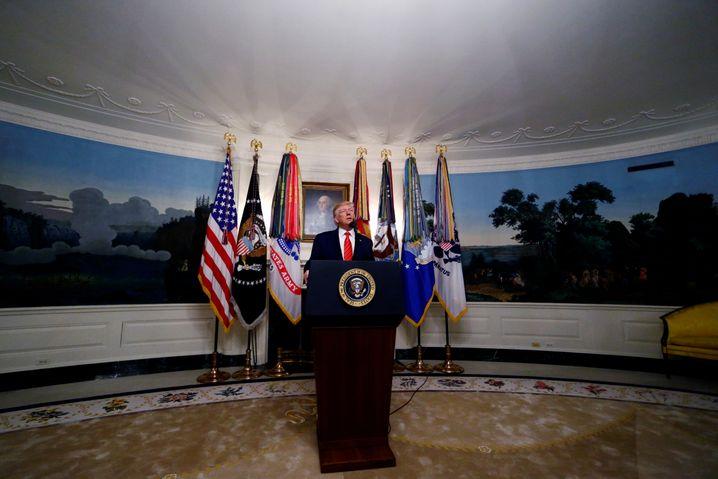 Suizid im Tunnel: Trump gibt Abu Bakr al-Baghdadis Tod bekannt
